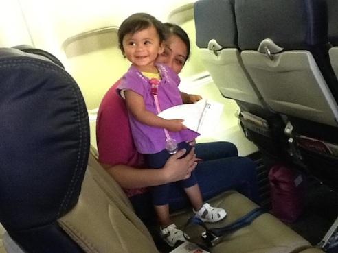 Bpoo's most recent flight, age 14 months