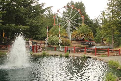 The mini Ferris Wheel