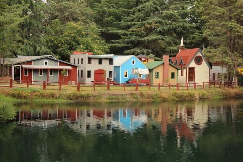 A mini town